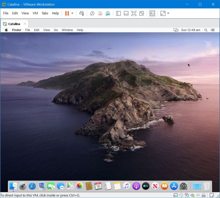 macOS Catalina on VMware