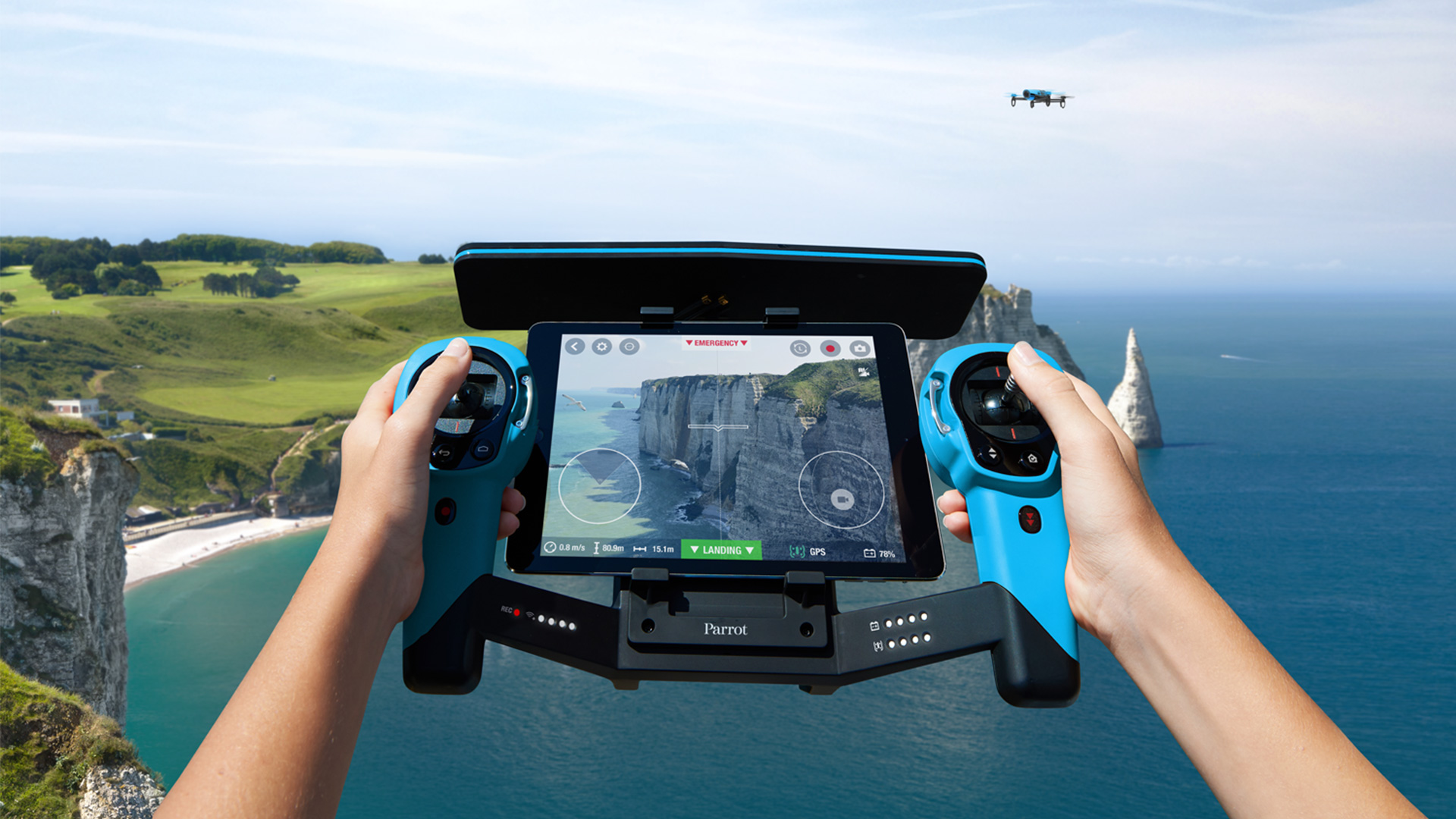 Great BeBop Drone Made Greater with SkyController, App