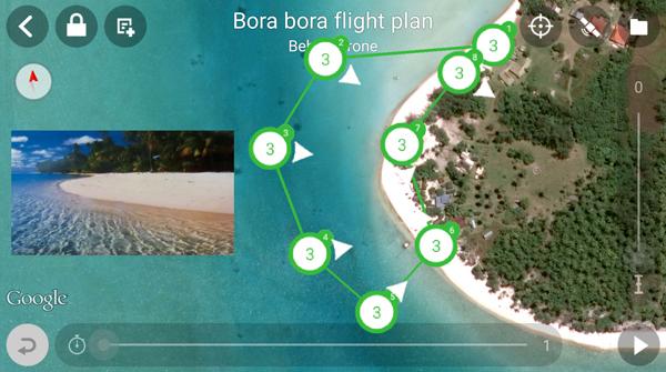 FreeFlight3 GPS Waypoint Plotting
