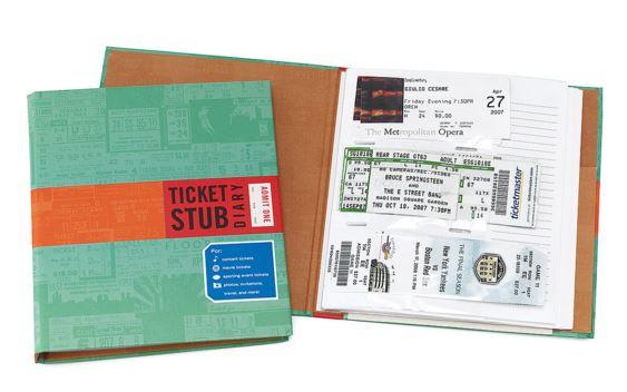 ticketstubdiary