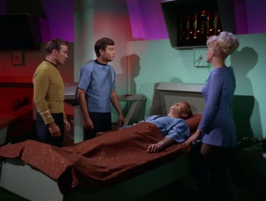 Star Trek Sickbay with Medical Scanner over bed