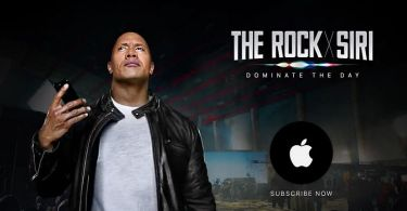 #ROCKxSIRI: The Rock and Siri Team up in New Apple Ad Campaign