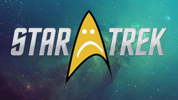 Star Trek Not Happy