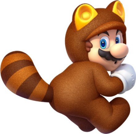Tanooki - Super Mario 3D World - Nintendo Wii U