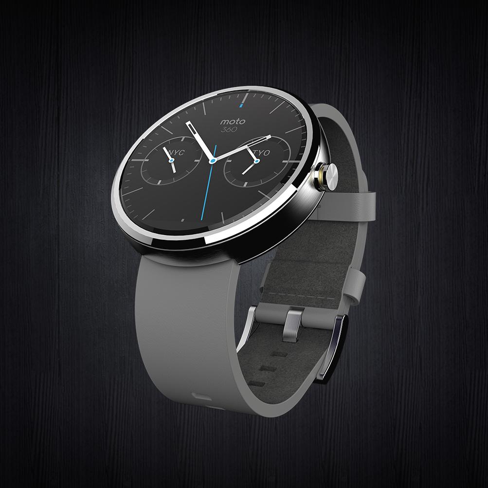 Android Wear : Motorola donne un aperçu de sa montre ...