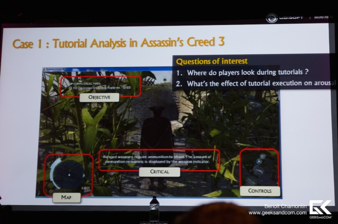 Ubisoft Montreal - Biometrie Jeux Video - Tutoriel 1 Assassins Creed MIGS 2013