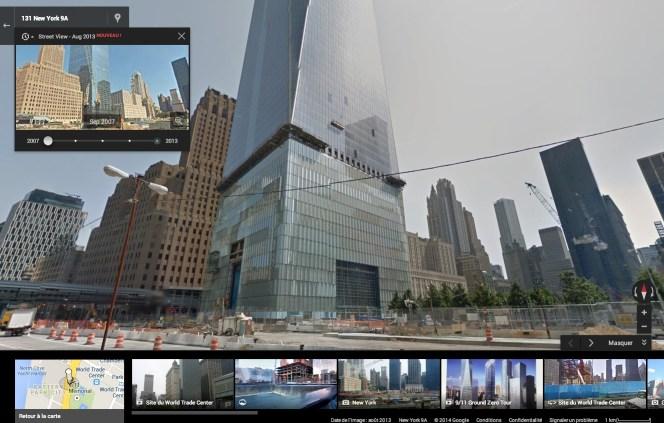 Google Maps Street View - Time machine 2