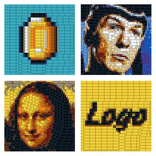 Brick-A-Pic - Kickstarter - Photo en Lego 1
