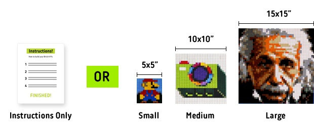 Brick-A-Pic - Kickstarter - Photo en Lego - Produit