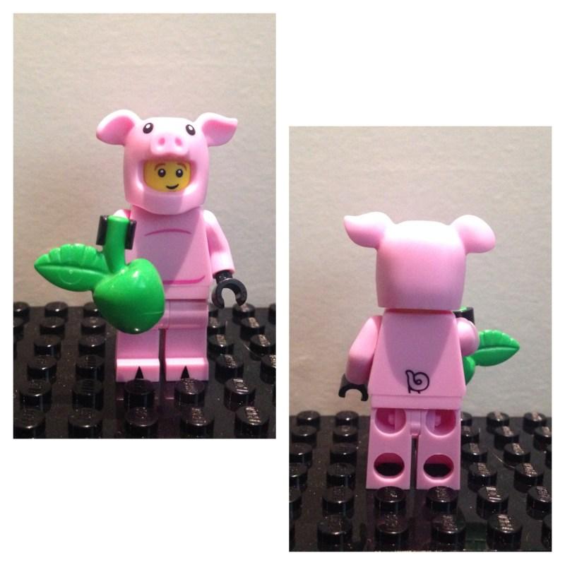 Deguisement de cochon - Lego - Minifures - Serie 12