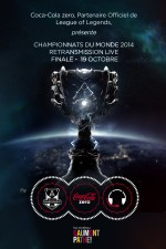 Finale Mondial 2014 League of Legends - Cinemas Pathe Coca-Cola