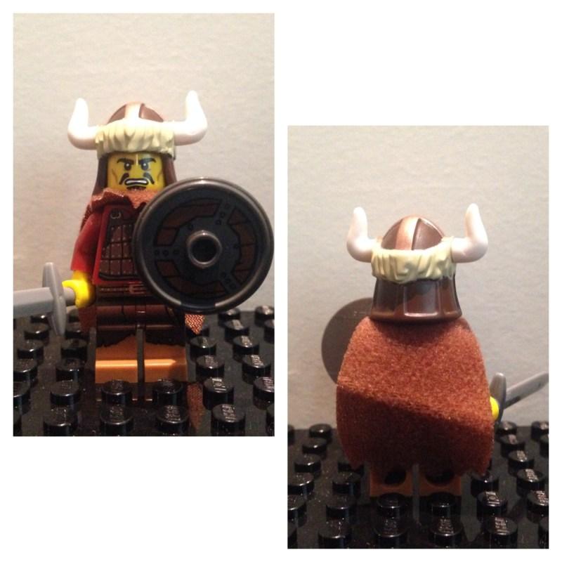 Guerrier Hun -Lego - Minifures - Serie 12