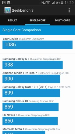 Samsung Galaxy Note 4 - Benchmark 03