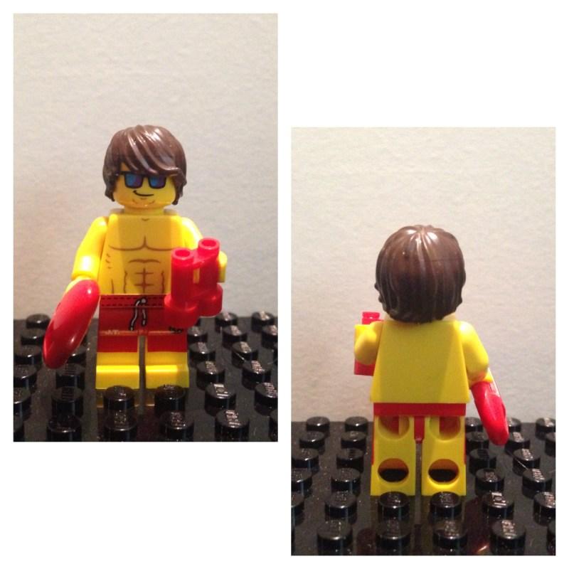 Sauveteur - Lego - Minifures - Serie 12