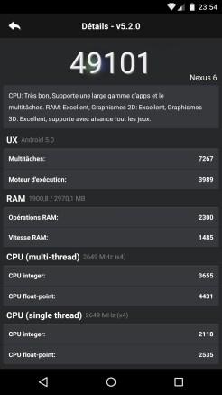 AnTuTu - Nexus 6 (Motorola) 2