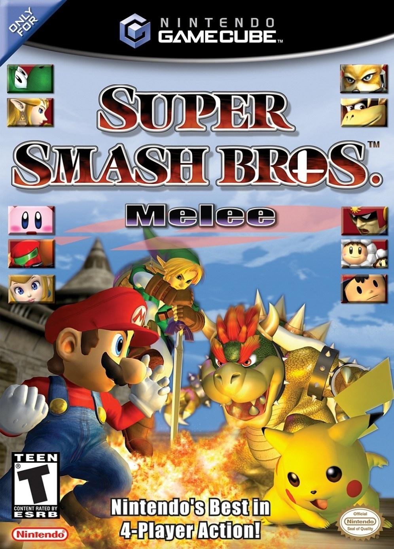 Super Smash Bros Melee - Nintendo Gamecube