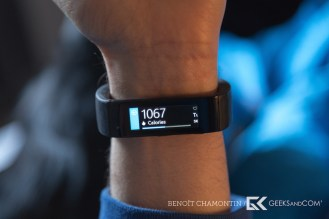Bracelet connecte Microsoft Band - Test Geeks and Com -6