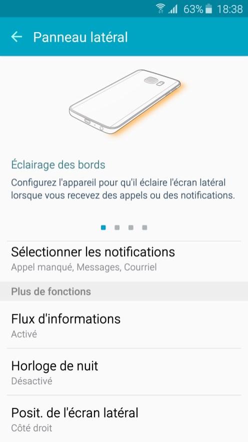 Galaxy S6 Edge Ecran Lateral 02