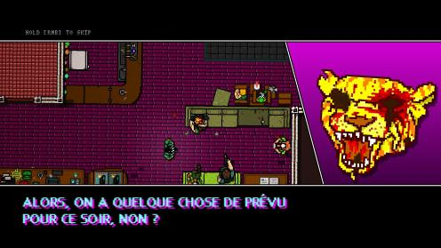 Hotline 2 Miami Wrong Number cinématique