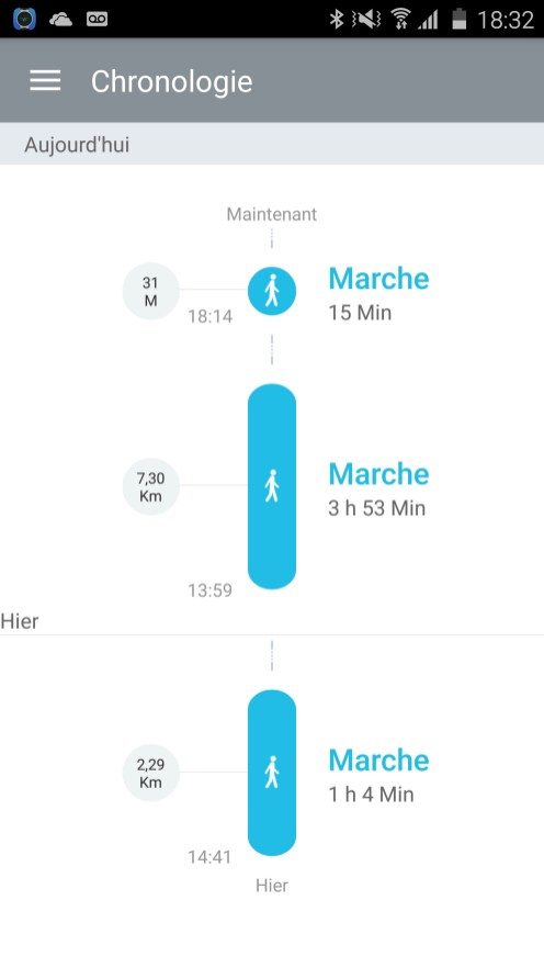 Alcatel Watch Application Mobile 08
