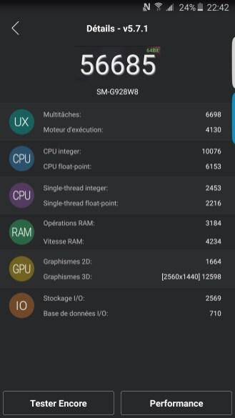AnTuTu - Samsung Galaxy S6 edge plus - Geeks and Com 1