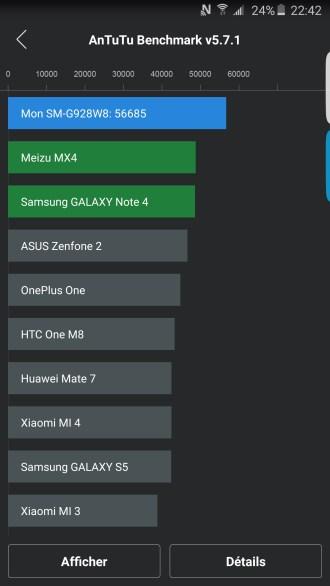 AnTuTu - Samsung Galaxy S6 edge plus - Geeks and Com