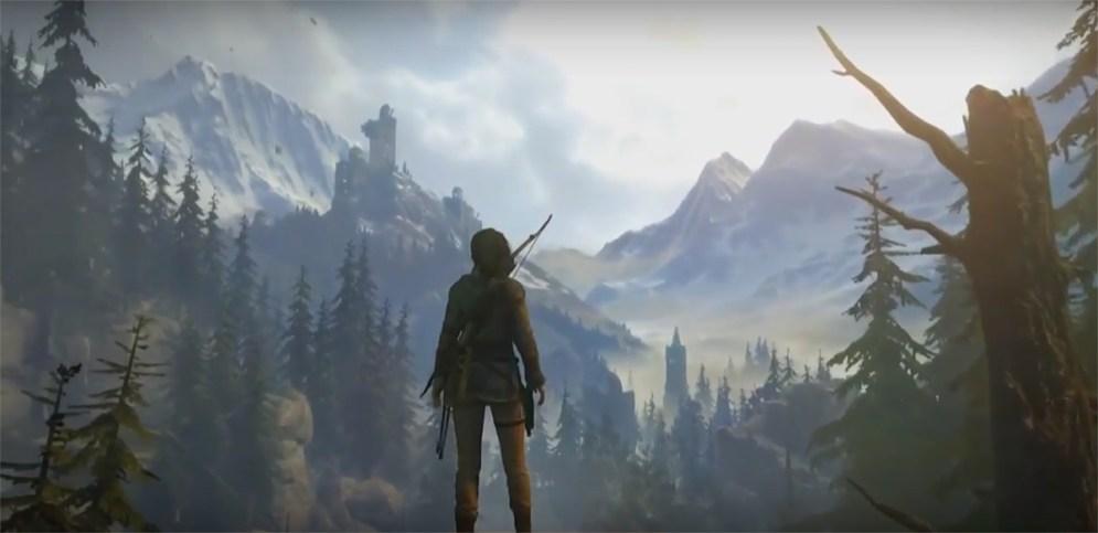 Rise of the Tomb Raider Gamescom