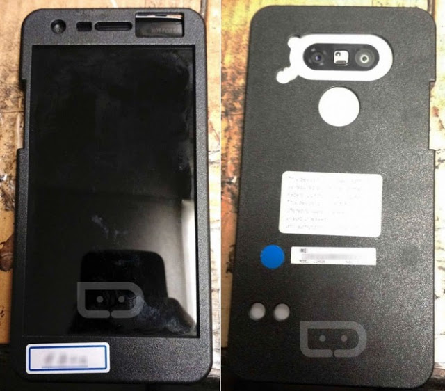 Fuite LG G5 - Coque protectrice - Face Arriere
