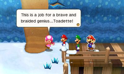 Mario & Luigi Paper Jam Nintendo 3DS Toadette
