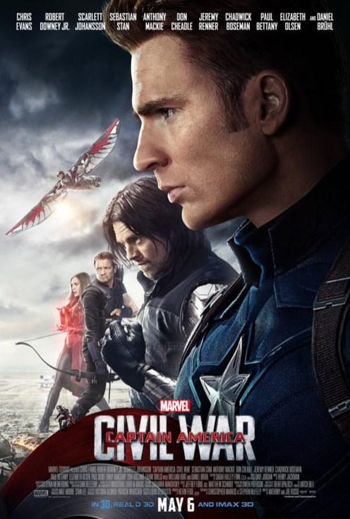 Team Captain America - Civil War