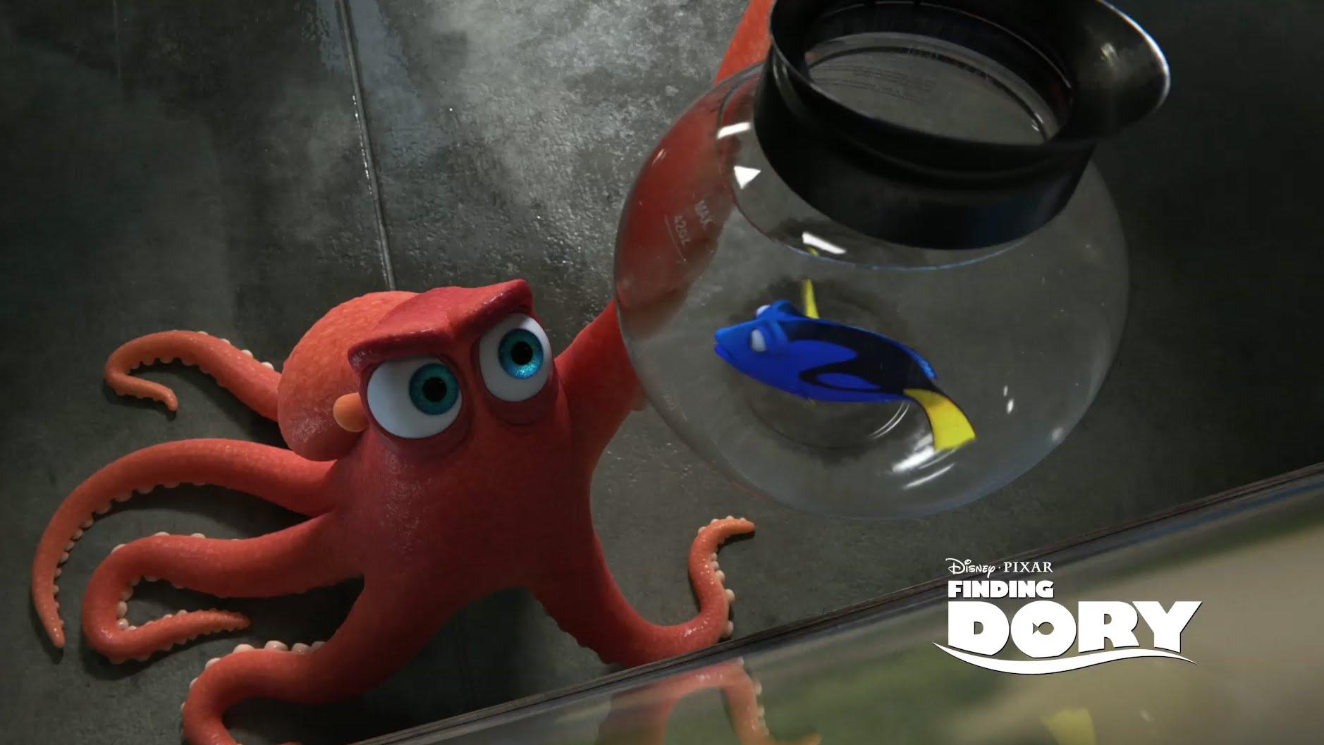 Pixar Dvoile Un Vieux Personnage Connu Dans Le Monde De Dory