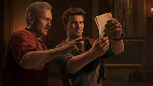 Uncharted 4 Nathan et Sully