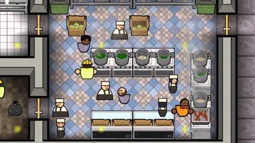 prison architect cuisine
