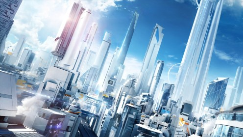 Mirror's Edge Catalyst Glass City