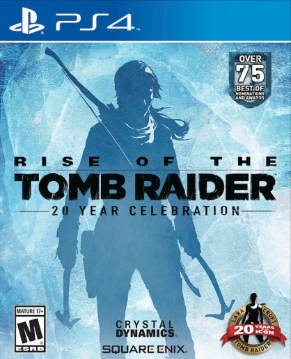 Rise of the Tomb Raider 20 Year Celebration PlyStation 4 jaquette