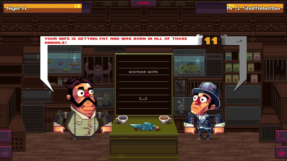 Oh... Sir !! The Insult Simulator