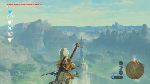 The Legend of Zelda Breath of the Wild Montagnes