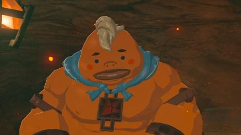The Legend of Zelda Breath of the Wild Yunobo