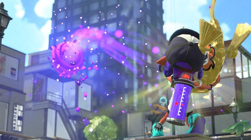 Projectile tiré par le Bazookarpe dans Splatoon 2
