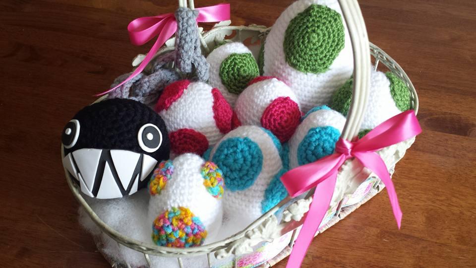 Crochet Oeufs Yoshi