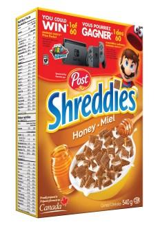 POST Nintendo - Shreddies au miel