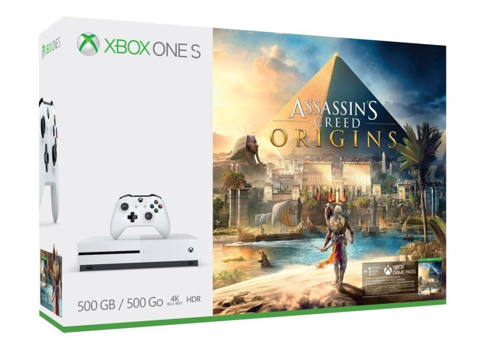 Assassin's Creed Origins Xbox One S bundle