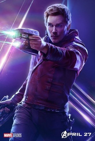 Avengers-Infinity-War-Affiche-Star-Lord