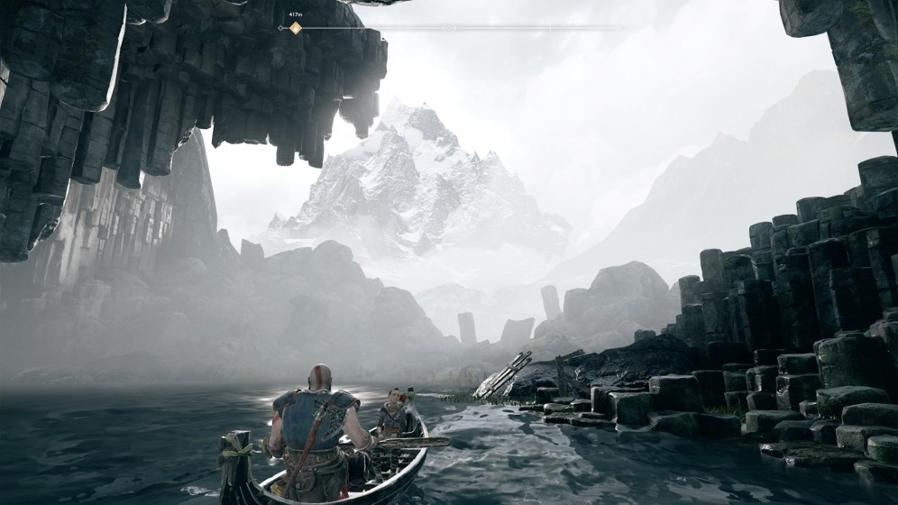 God of War Bateau 1
