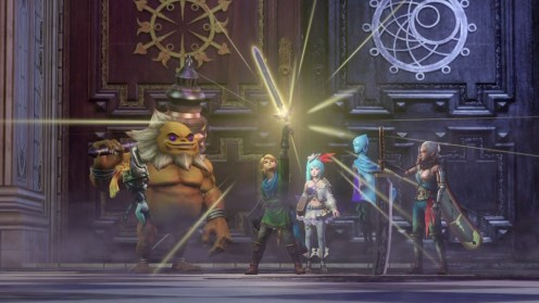 Hyrule Warriors Definitive Edition Groupe
