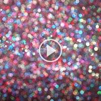 Glitter in 4K Super Slo Mo Creates the Most Majestic Abstract Visuals