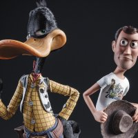 Daffy Duck Got Woody's Look From TOY STORY in Cute Fan Art
