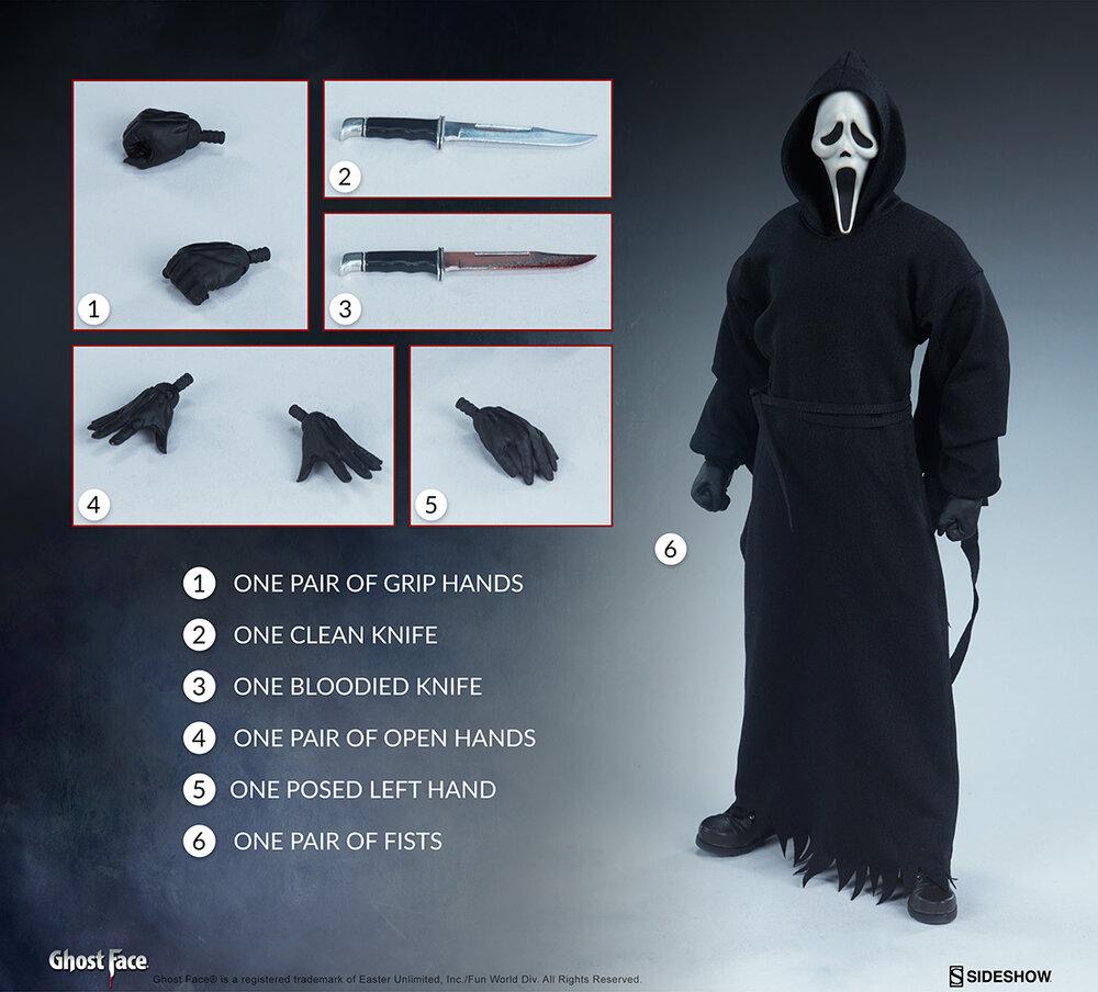 SCREAM Ghostface Action Figure