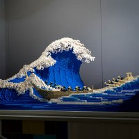 The World's Youngest-Ever Lego Certified Professional Latest Creation is 50,000 pieces of Great Wave