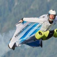 BMW's World's First Electric Wingsuit With Mind-Boggling 300KMH Speed